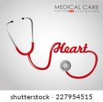 medical graphic design   vector ... | Shutterstock .eps vector #227954515