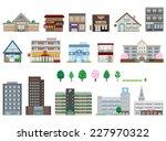 various building | Shutterstock .eps vector #227970322