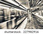 New York City Subway Train...