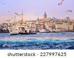 golden horn  istanbul  turkey | Shutterstock . vector #227997625
