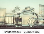 unique still life of different... | Shutterstock . vector #228004102