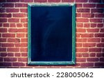 retro filtered photo of a... | Shutterstock . vector #228005062