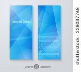 geometric design for flyers ... | Shutterstock .eps vector #228037768