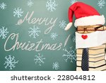 unusual santa claus from books... | Shutterstock . vector #228044812