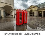 Red Telephone Box At Covent...