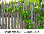Country Garden Wall. Wooden...
