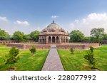 isa khan tomb   Shutterstock . vector #228077992