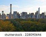 new york city   november 2 ... | Shutterstock . vector #228090646