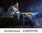 bad habits | Shutterstock . vector #228099598