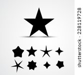 star vector icon. set | Shutterstock .eps vector #228119728