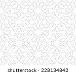 seamless pattern of... | Shutterstock .eps vector #228134842