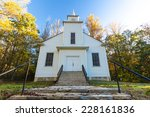 Small  Country Church In Rural...