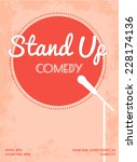 Stand Up Comedy Event Poster....