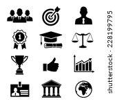illustration partnership and... | Shutterstock . vector #228199795