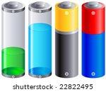 accumulator  battery | Shutterstock .eps vector #22822495