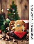 Christmas Food. Gingerbread Man ...