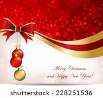 christmas abstract background... | Shutterstock .eps vector #228251536