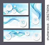 set of templates for print or... | Shutterstock .eps vector #228276046
