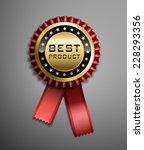 high detailed vector award... | Shutterstock .eps vector #228293356