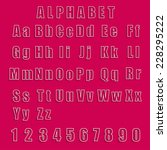 collection vector alphabet and...