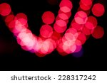 red bokeh abstract light... | Shutterstock . vector #228317242