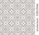 traditional embroidered pattern ... | Shutterstock .eps vector #228319066