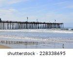 Pismo Beach Pier Large Wooden...