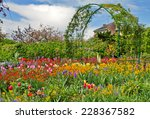 Monet S Garden At Spring ...