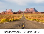 road to the monument valley | Shutterstock . vector #228452812