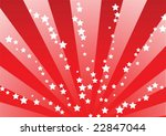 red star bursts   Shutterstock .eps vector #22847044