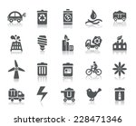 environmental protection icons | Shutterstock .eps vector #228471346
