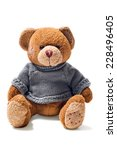 Toy Teddy Brown Bear With...