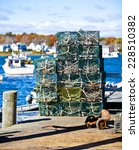 Crab Or Lobster Pots On...