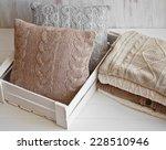 cozy wool winter accessory.... | Shutterstock . vector #228510946