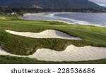 pebble beach  california  ... | Shutterstock . vector #228536686