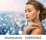 people  holidays  christmas and ... | Shutterstock . vector #228542362