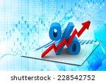 percent growing | Shutterstock . vector #228542752