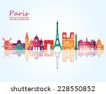 paris. vector illustration | Shutterstock .eps vector #228550852