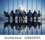 group of business people meeting | Shutterstock . vector #228603055