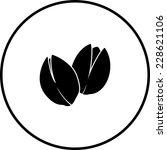 pistachios symbol   Shutterstock .eps vector #228621106