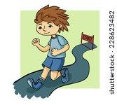 run vector illustration | Shutterstock .eps vector #228623482