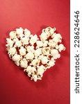 Pop Corn Heart