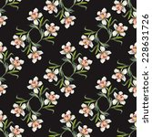 flower seamless pattern | Shutterstock . vector #228631726