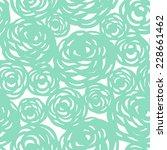 seamless floral pattern. vector ... | Shutterstock .eps vector #228661462