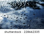 Water Drops On The Car