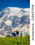 four children posing for the... | Shutterstock . vector #228697048