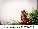 christmas decoration | Shutterstock . vector #228714022
