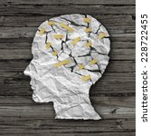 brain disease therapy and... | Shutterstock . vector #228722455