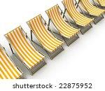 sunlounger | Shutterstock . vector #22875952