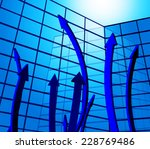 arrows going up showing raise... | Shutterstock . vector #228769486